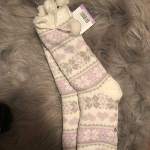 Accessories - Double layer knit socks